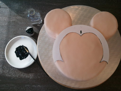 mickey mouse torte selber machen raum und m beldesign. Black Bedroom Furniture Sets. Home Design Ideas