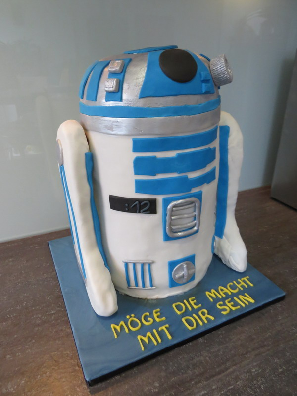 Star Wars R2d2 Luxus Torten